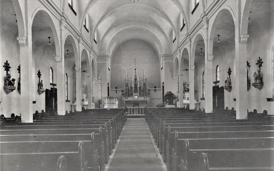 Inside Catholic Church